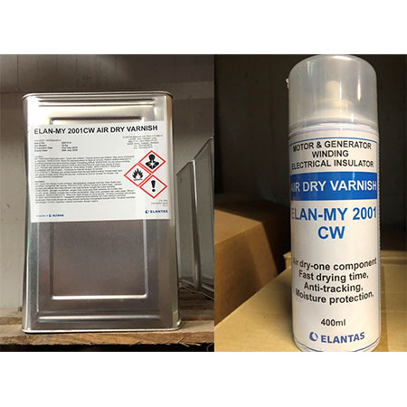 Air Varnish Insulating Drying - Elantas 2001
